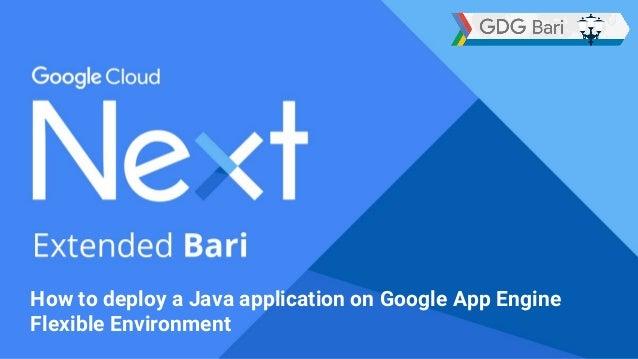 how to deploy a java application on google app engine flexible enviro rh slideshare net Google App Engine Proxy Google Cloud Platform