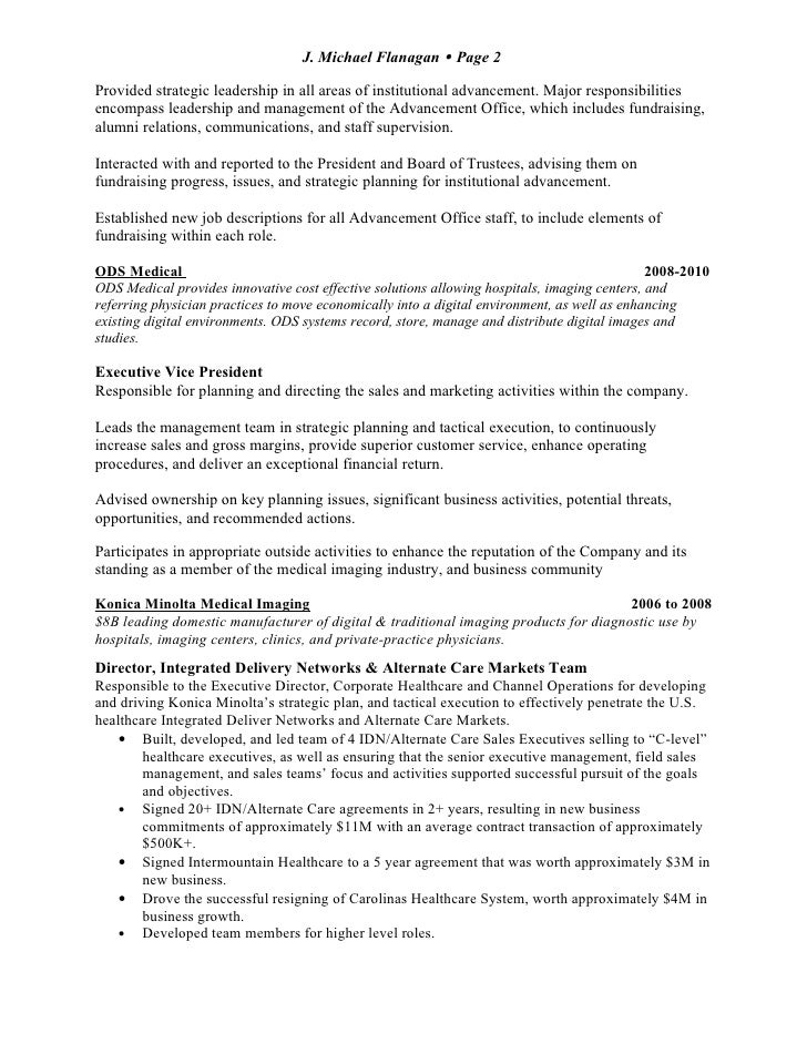 mike flanagan resume 222011