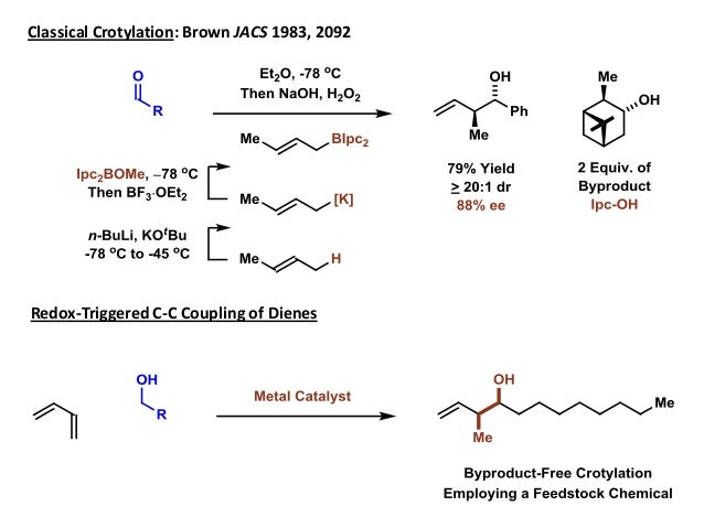 The First and Highly Enantioselective Crotylation of ...