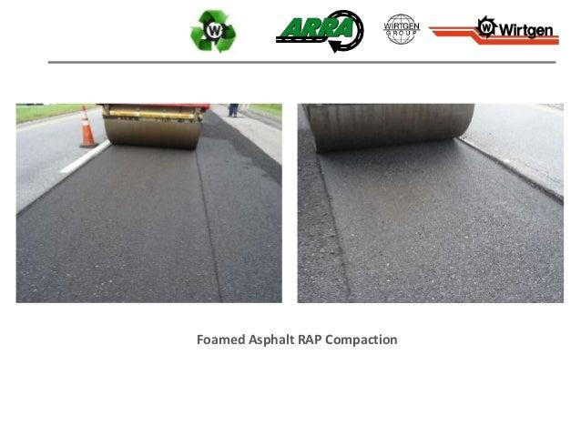 Foamed Asphalt RAP Compaction