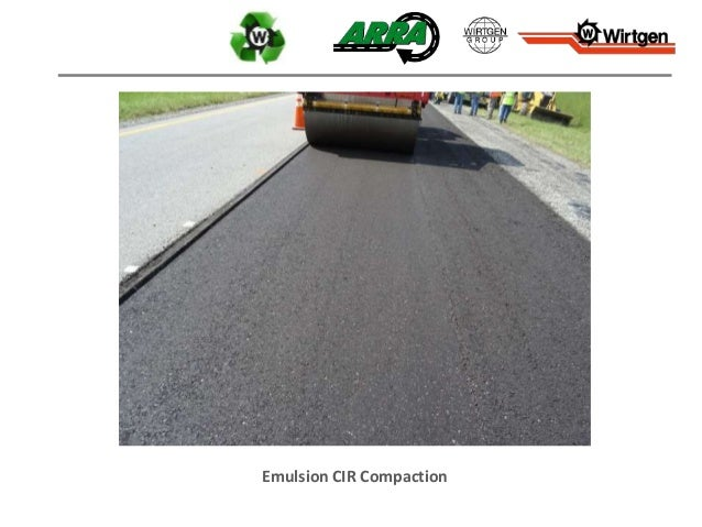 Emulsion CIR Compaction