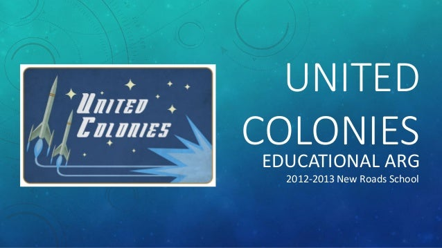 UNITED COLONIES EDUCATIONAL ARG 2012-2013 New Roads School