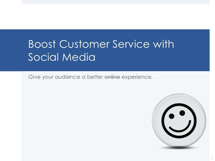 .eduGuru Summit - Boost Customer Service with Social Media