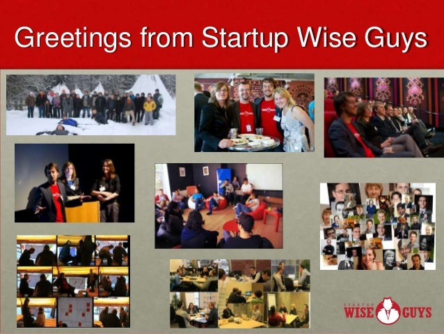 Greetings from Startup Wise Guys