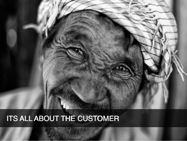 PART 1: WORKSHOP - WHO IS YOUR CUSTOMER?