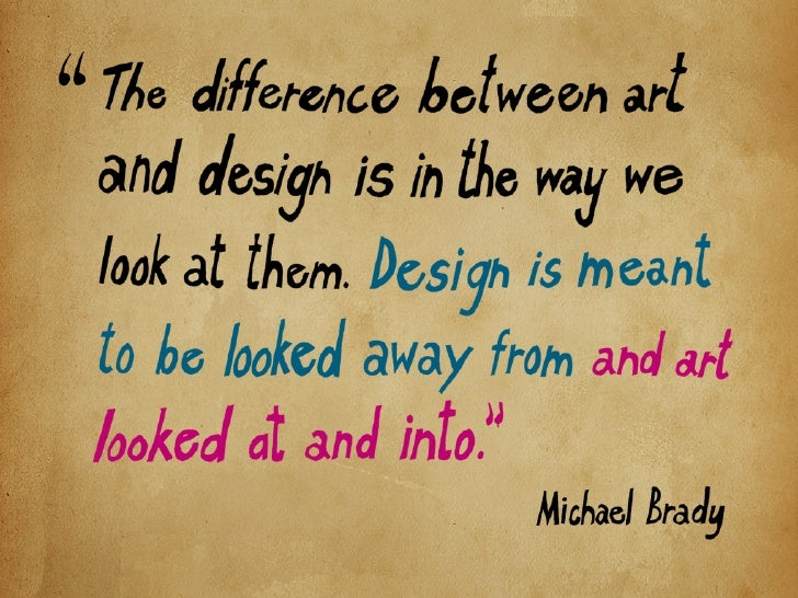 Whatever happened to the Art in Design