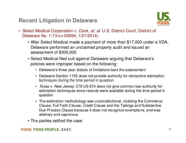Unclaimed Property History Audit Trends And Legislative