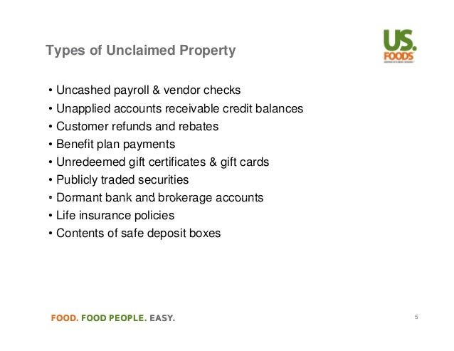 Texas Unclaimed Property Dormancy Period
