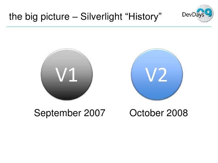 Mike Taulty Silverlight3 Dev Days Part1 Slide 3