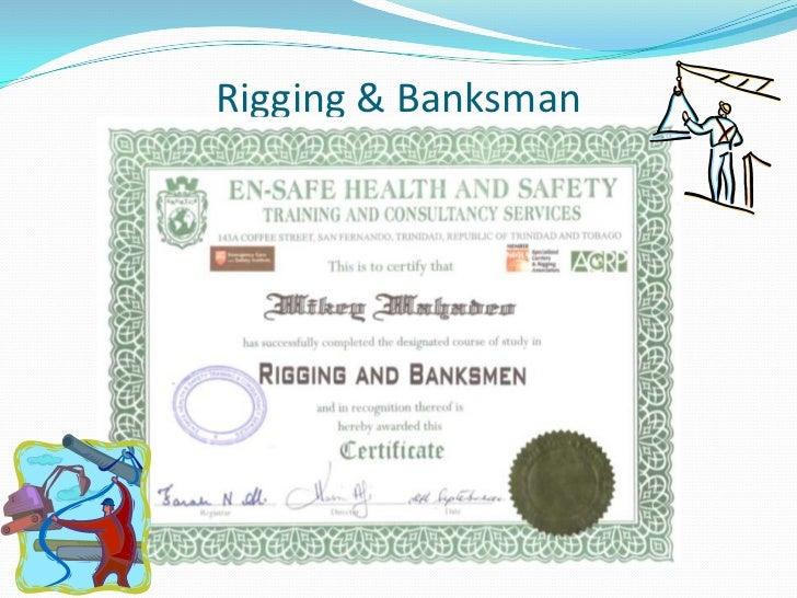 Mikey Junior Mahadeo Certificate Presentation