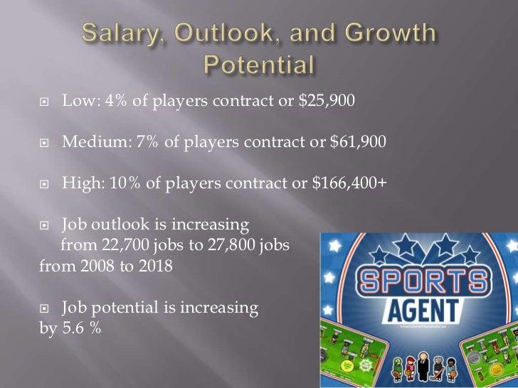 sports agent job description