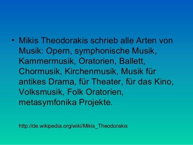 Mikis theodorakis  Slide 2