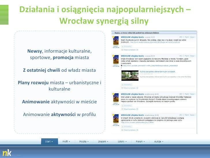 Działania i osiągnięcia najpopularniejszych – Wrocław synergią silny  Newsy , informacje kulturalne, sportowe,  promocja  ...