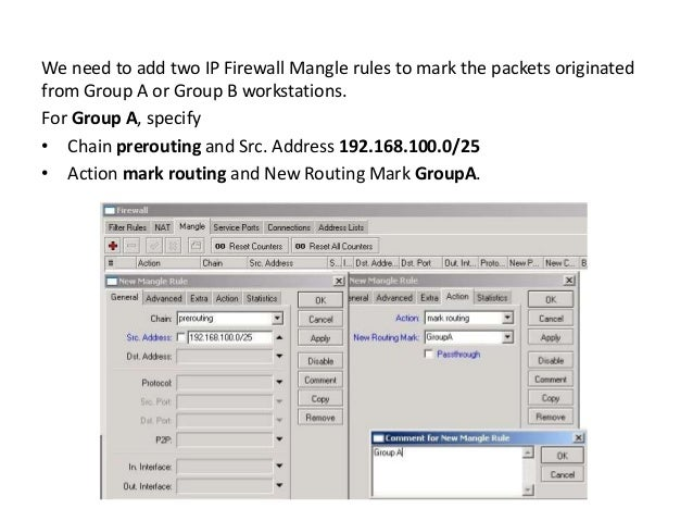 Mikrotik link redundancy solution