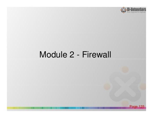 Module 2 - Firewall Powerpoint Templates Page 125 Module 2 - Firewall