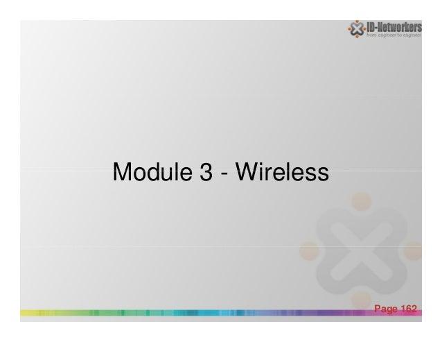 Module 3 - Wireless Powerpoint Templates Page 162 Module 3 - Wireless