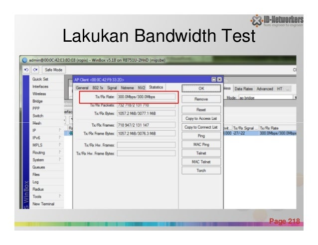 Lakukan Bandwidth Test Powerpoint Templates Page 218