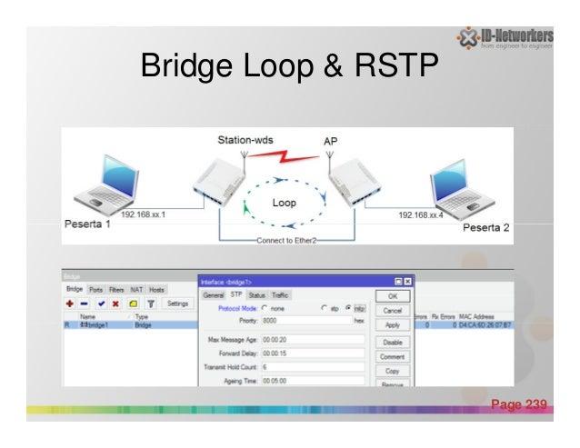 Bridge Loop & RSTP Powerpoint Templates Page 239