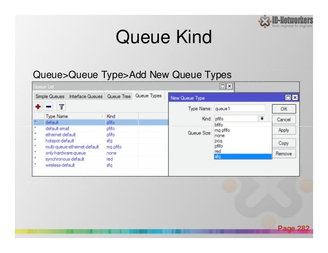 Queue Kind Queue>Queue Type>Add New Queue Types Powerpoint Templates Page 282