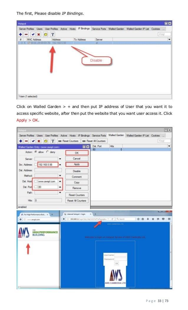 Mikrotik router documentation ( Prepare by Mr  Chetra PO )