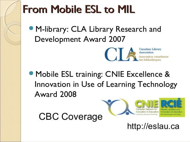 Mobile Information Literacy Project 2015Mobile Information Literacy Project 2015 • Improve student's information literacy ...