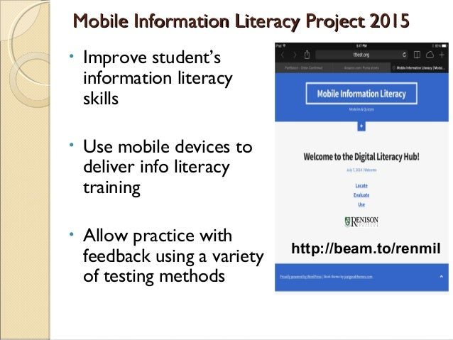 Learners: ◦ already have mobile devices ◦ access lessons and exercises from remote locations, anywhere & practice anytime...