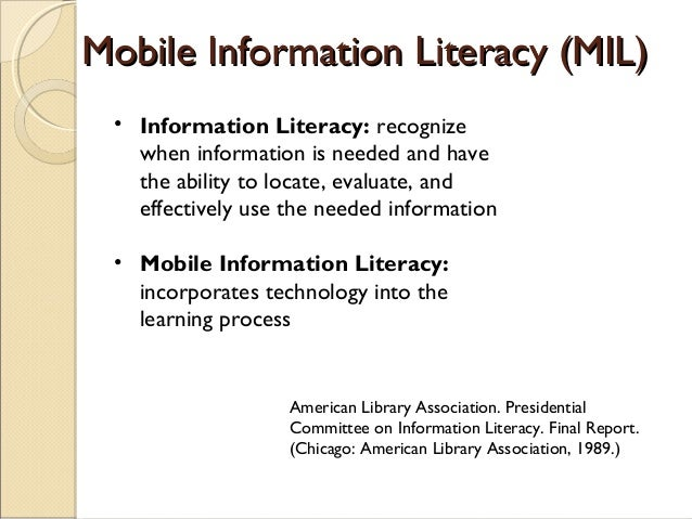 • 13 Lessons focusing on how to locate, evaluate and use information • Content specific to use of UW library resources • O...