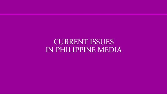 media and philippine politics Recognizing the evolving role of media in in the philippines during the ifes has engaged in to employ new media to improve political and.