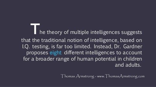 Multiple intelligence test for adult