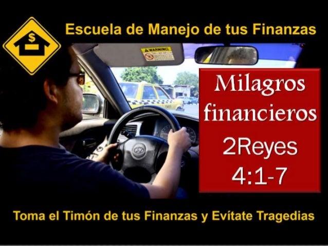 Milagros Financieros