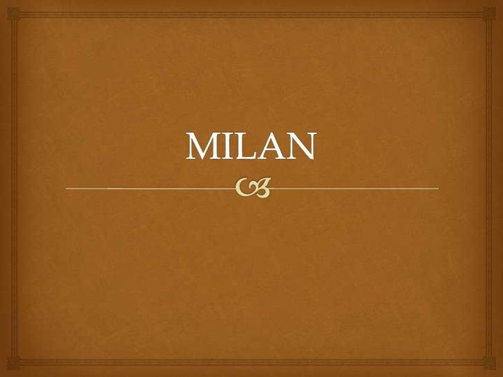 MILAN<br />