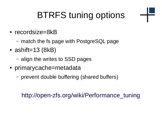 Btrfs snapshot copy-on-write array