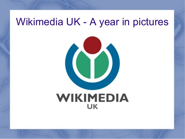 Wikimedia UK - A year in pictures