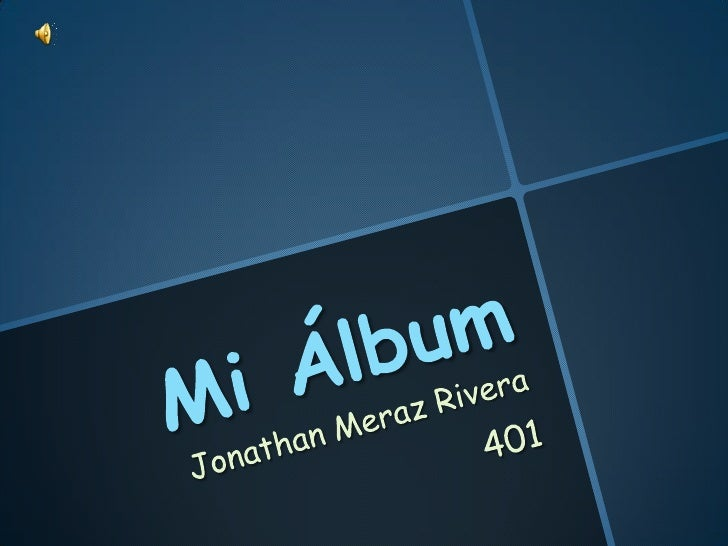 Mi álbum