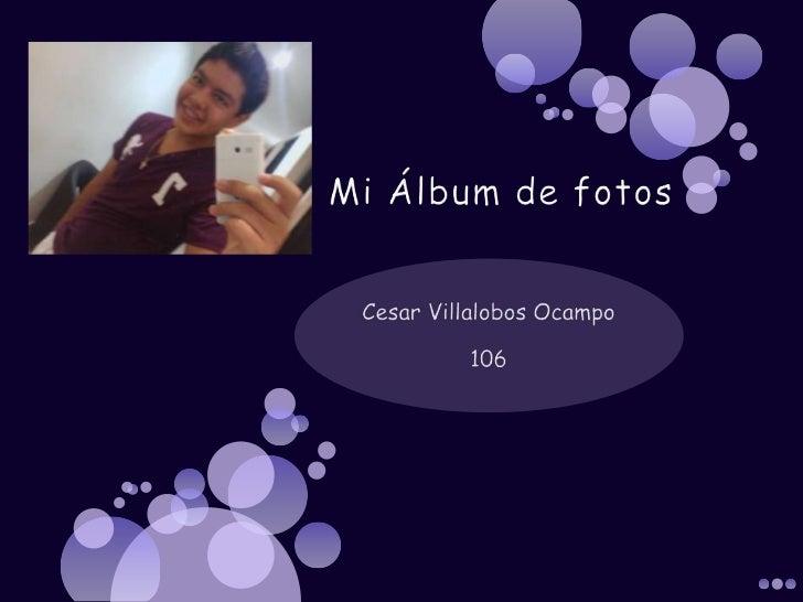 Mi álbum de fotos