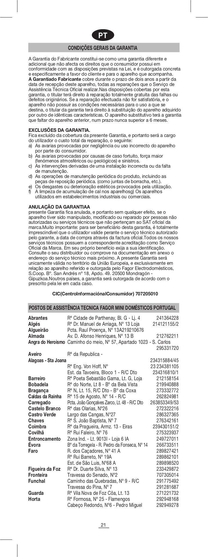 Servicio tecnico fagor zaragoza best enlaces with for Servicio tecnico fagor granada