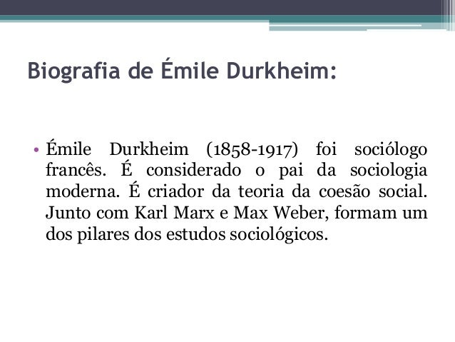 karl marx emile durkheim and max weber The classical theorists in sociology (marx, weber, and durkheim): what can they tell us about environment - society relations the classical theorists have all been.