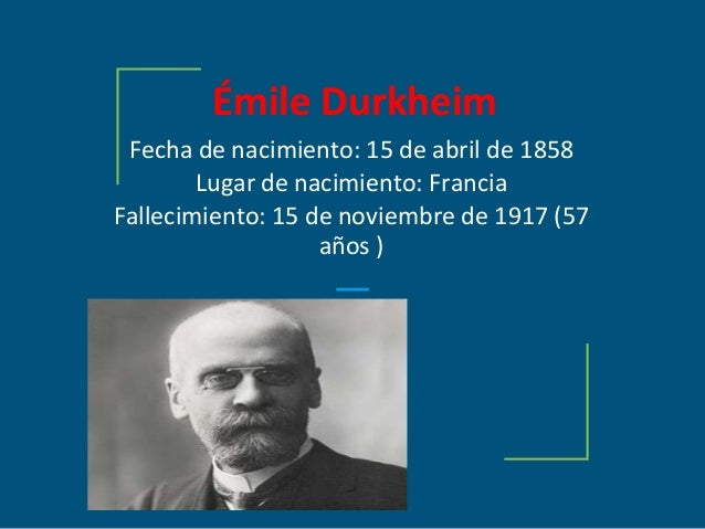 why can emile durkheim and karl Read the background material on emile durkheim and max weber using a major difference between weber and durkheim in the area karl marx, emile.