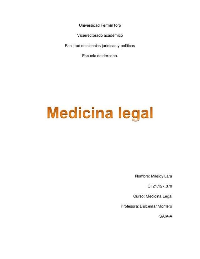 Universidad Fermín toro  Vicerrectorado académico  Facultad de ciencias jurídicas y políticas  Escuela de derecho.  Nombre...