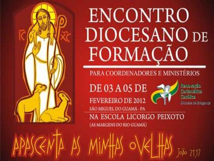 ROTEIRO DE FORMAÇÃO PARA O MINISTÉRIO DE INTERCESSÃOI - INTRODUÇÃO1.1 – APRESENTAÇÃO DO FORMADOR:Milena SantosCoordenação ...