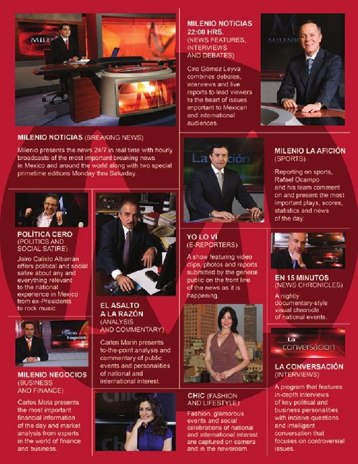 Milenio Television Programs