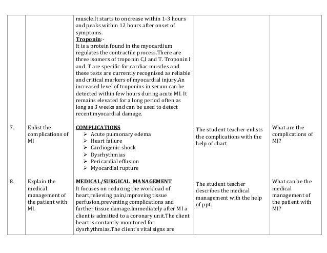 teaching plan for edema