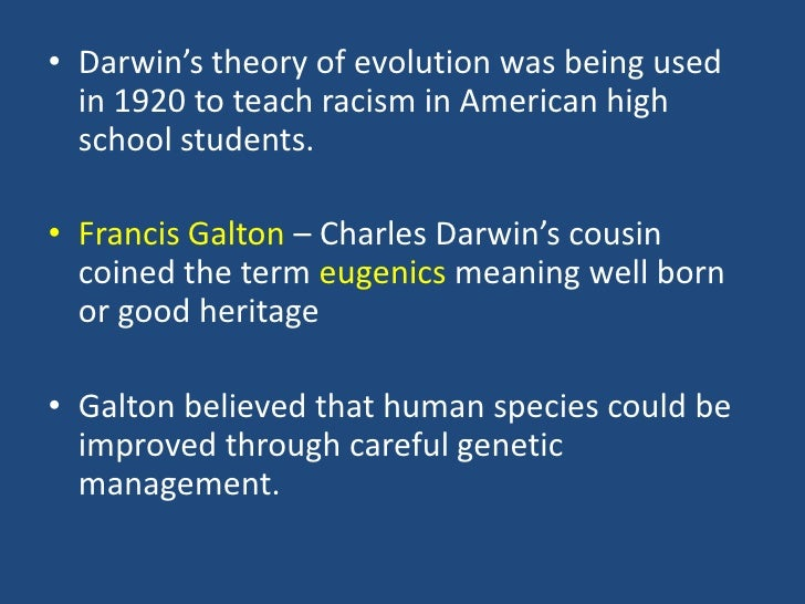 charles darwin theory of evolution should be taught in schools Evolution should be taught as a practical tool for understanding drug resistance and the price of fish  why everyone should learn the theory of evolution  charles darwin did not think of .