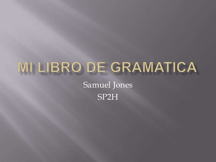 Samuel Jones   SP2H