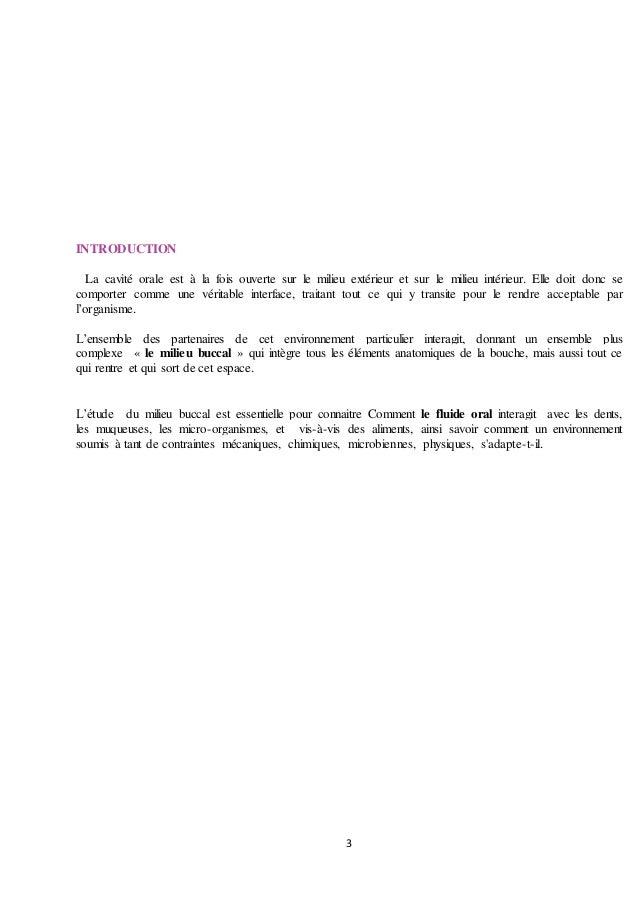 Milieu buccal-soumia Slide 3