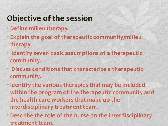 how to become a milieu therapist