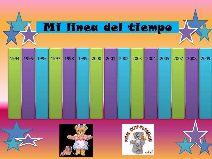 Mi Linea De Tiempo Slide 2