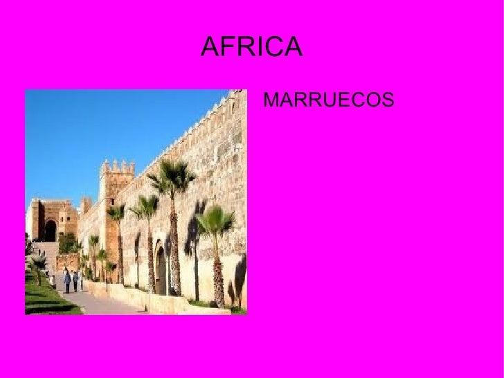 AFRICA   MARRUECOS