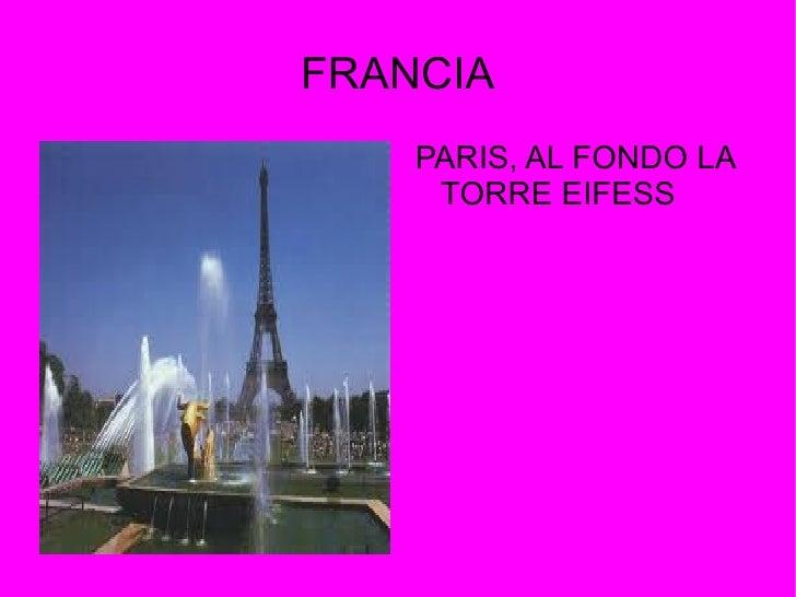FRANCIA    PARIS, AL FONDO LA     TORRE EIFESS