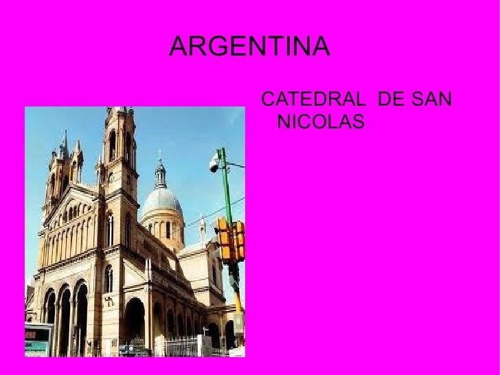 ARGENTINA     CATEDRAL DE SAN      NICOLAS